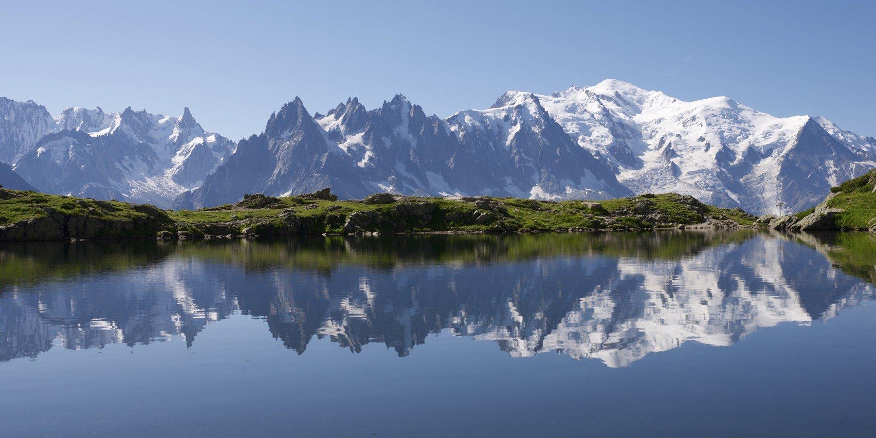 Vacances camping à la montagne